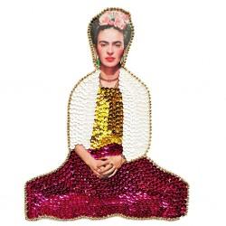Parche lentejuelas Frida Kahlo grande