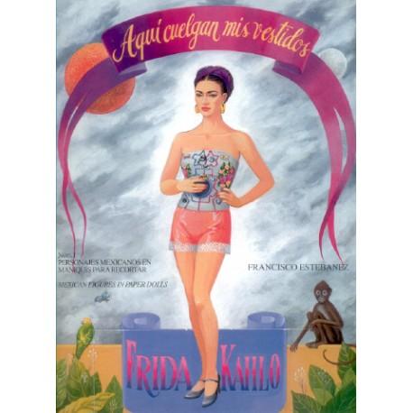 Recortable Frida Kahlo
