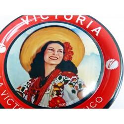 Porta vasos Retro Cerveza Victoria- Pinup Mexicana
