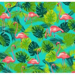 Toile cirée Flamingo