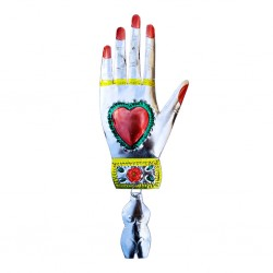 Hand with milagro Ornament