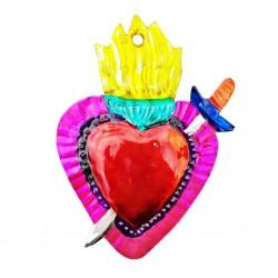 Coeur sacré au poignard