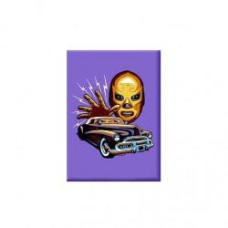 Purple Masquerado magnet