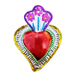 Floral Sacred heart