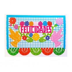 Carte postale Felicidades
