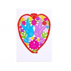 Corazón Postcard