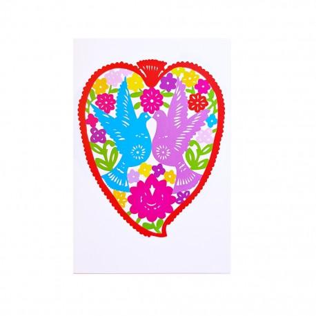 Carte postale Corazón