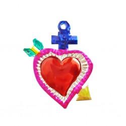 Petit coeur sacré Flèche Bleu