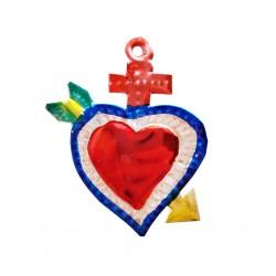 Petit coeur sacré Flèche Rouge