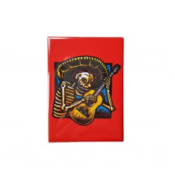 Imán Guitarro Rojo