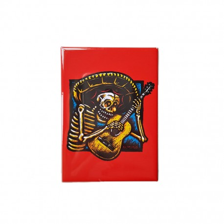 Magnet Guitarro Rouge
