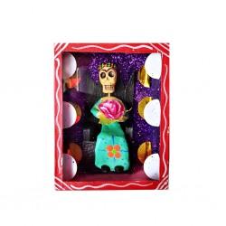 Caja Frida sentada Rojo