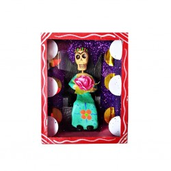 Red Sitting Frida diorama box