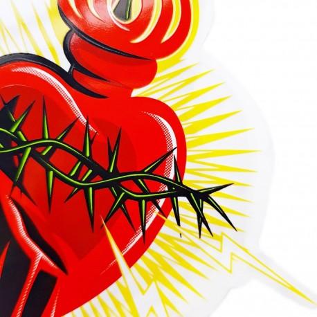 Sticker Electric heart