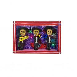 Boîte vitrine Trio de mariachis