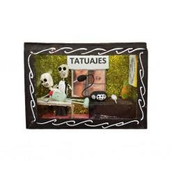 Black Tattoo studio diorama box
