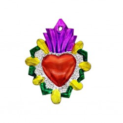 Sagrado corazón radiante Rosa