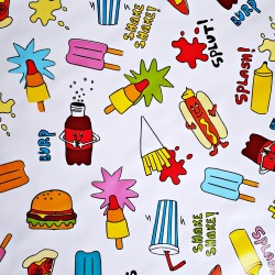 Fast food Oilcloth