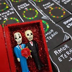 Gay Amor Eterno coffin box