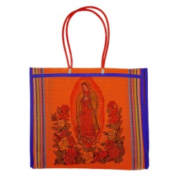 Orange Guadalupe market bag