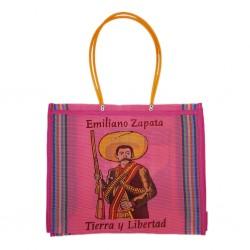 Pink Zapata market bag
