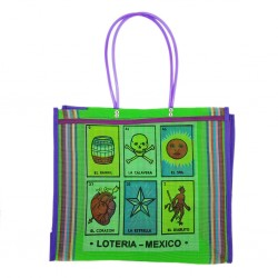 Green Loteria market bag