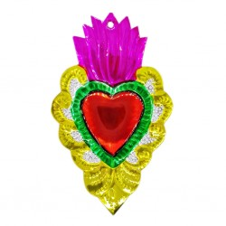 Yellow Mexican sacred heart