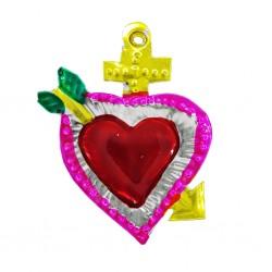 Petit coeur sacré Flèche Jaune