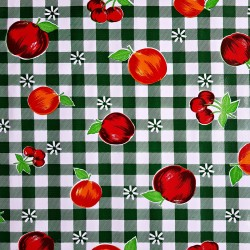 Green Frutal Oilcloth