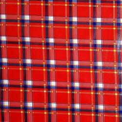 Hule Escocés Rojo