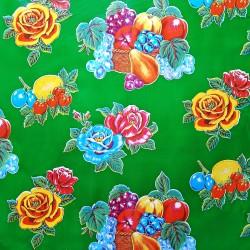 Green Limones oilcloth