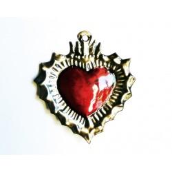 Petit coeur sacré avec halo