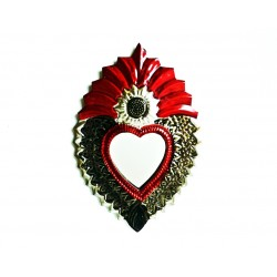 Sacred heart with mirror Sunflower