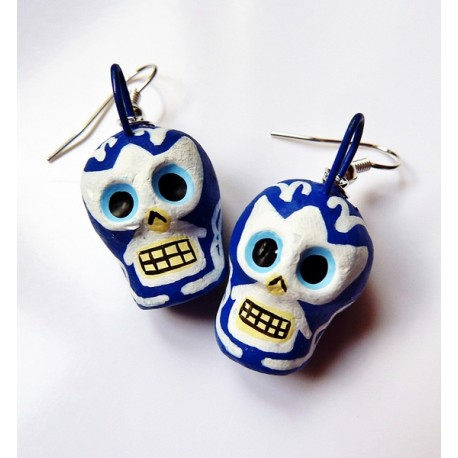 Lucha Libre earings-Handmade