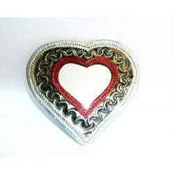 Sagrado Corazón con inserto de espejo