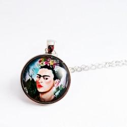 Collier autoportrait Frida Kahlo